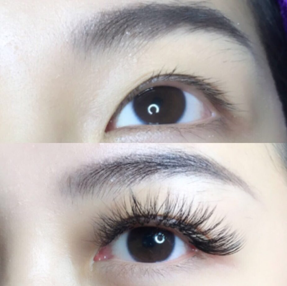 Before And After: Eyelash Extensions For 3 Months | Tina's Beauty Singapore Review